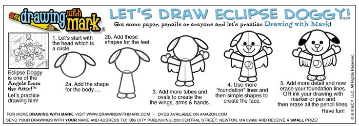 Have fun drawing Eclipse Doggy! #DrawingWithMark #EclipseDoggy