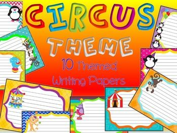 circus writing paper This set includes 12 writing prompts about the circus and 2 different writing papers for story writing this set includes 12 writing prompts about the circus and 2 different writing papers for story writing  free writing prompts and paper what the teacher wants the wonderful world of writing prompts with printable paper the wonderful world.