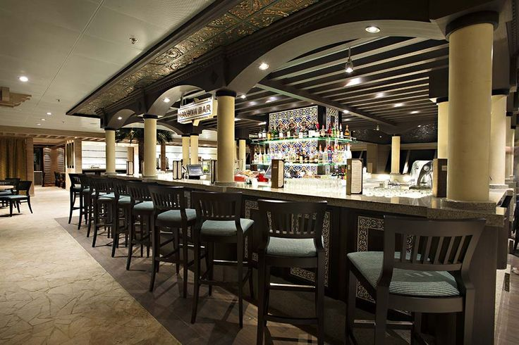 Havana Bar  Cuisine: Cuban Dress Code: Casual  Surcharge: No Reservations Required: No Hours Breakfast and Lunch; Ask on board for hours