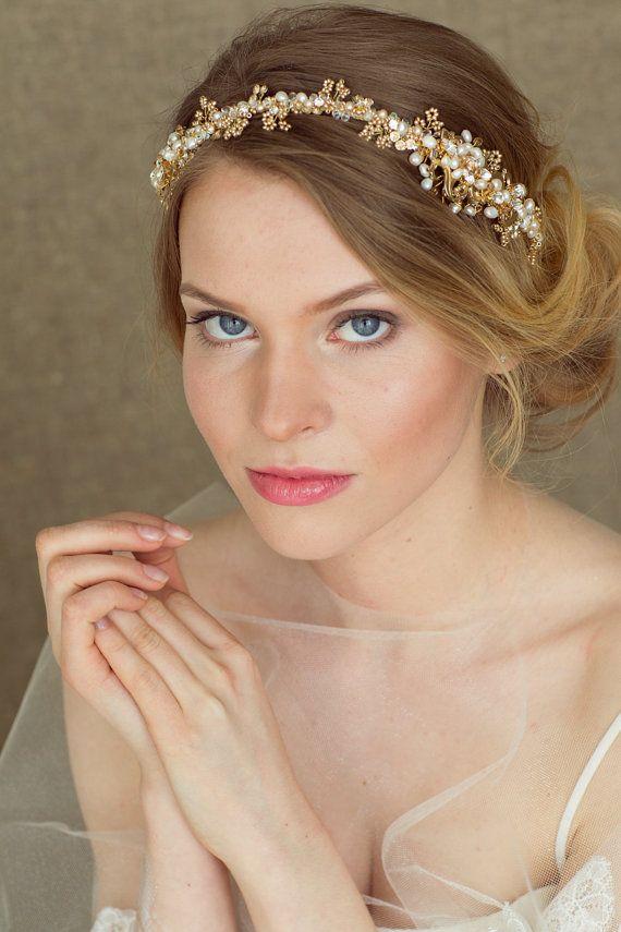 Best 25+ Wedding headband hairstyles ideas on Pinterest ... - photo #47