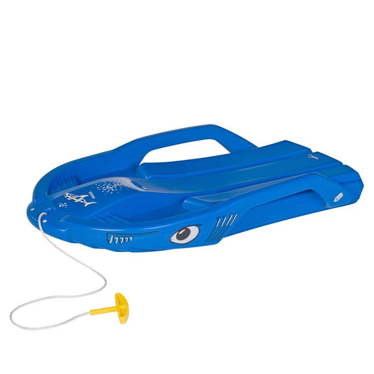ROLLY TOYS rollySnow Shark, blau #schneematte #schneerutscher #wintersport #schnee #spaßimschnee #schlitten #schlittenfahren #winterspaß #kinder