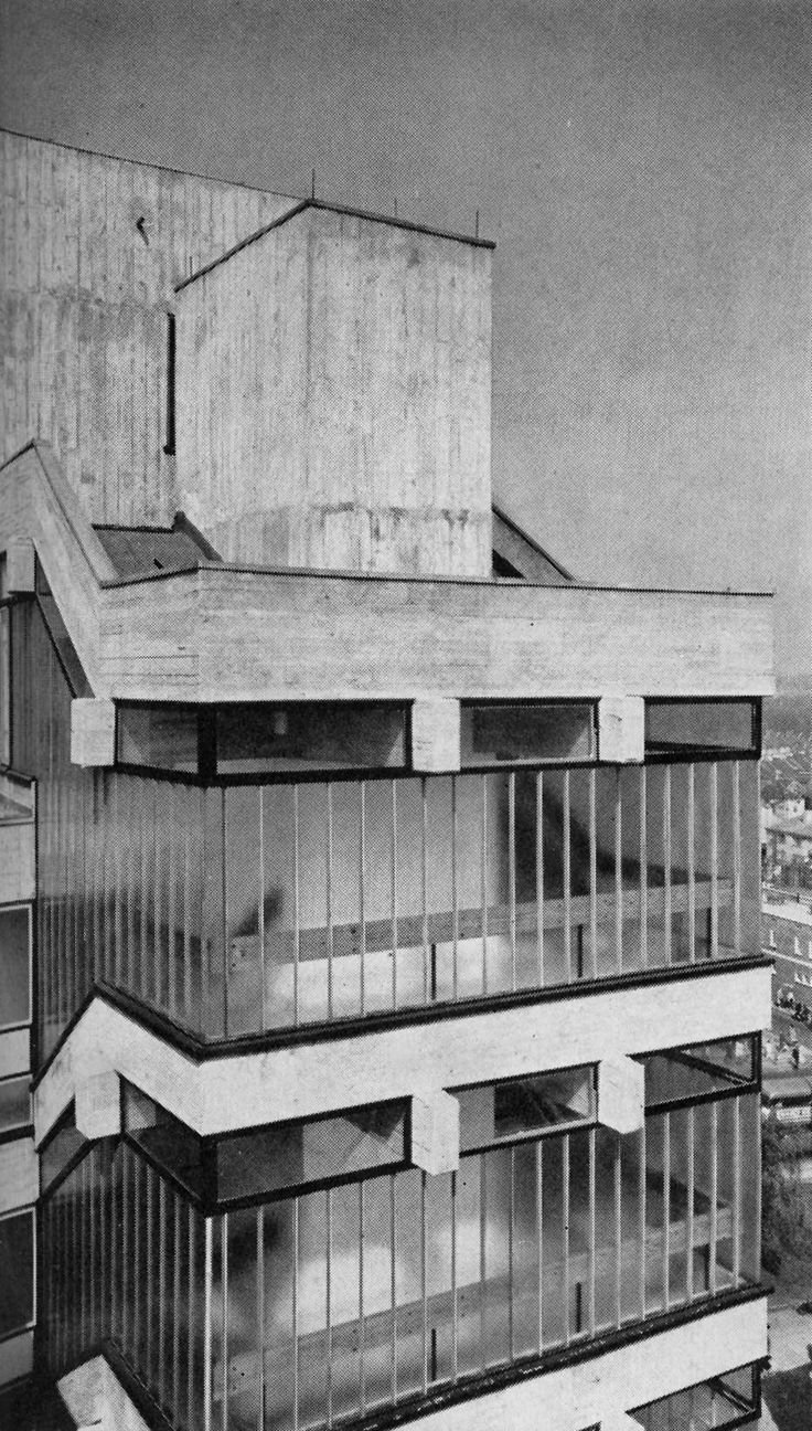 fuckyeahbrutalism: Eros House, Catford, London, 1960-63(Owen Luder Partnership)