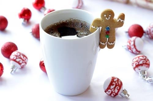Gingerbread Christmas coffee