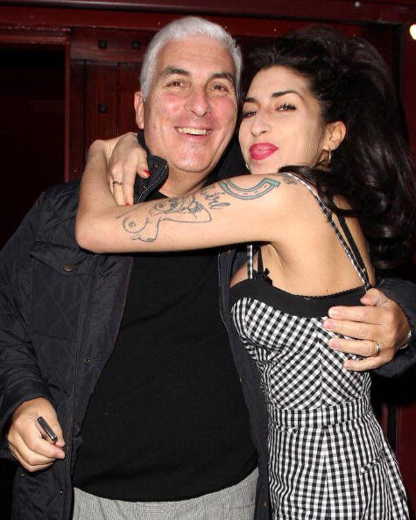 Amy Winehouse & Mitchell Winehouse (daddy's girl)