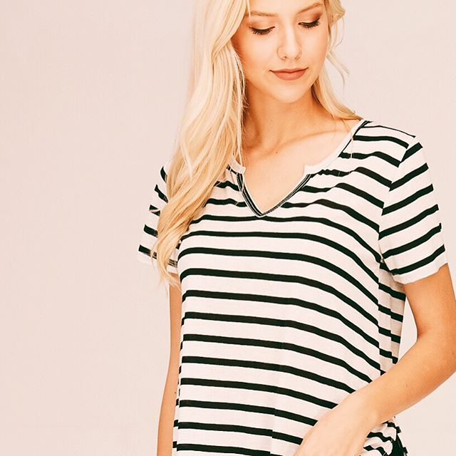 Never underestimate the power of the perfect striped shirt! 😎