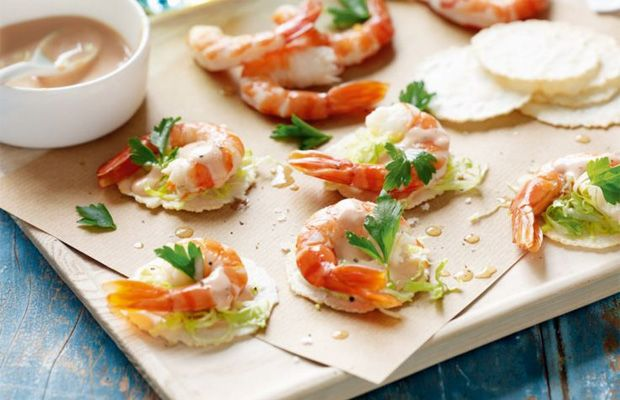 Recettes apero dinatoire facile canap s avocats et for How to make canape shells