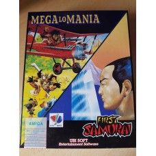 First Samurai/Mega Lo Mania for Commodore Amiga from Ubisoft