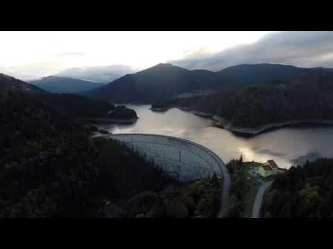 Barajul Dragan - Filmare aeriana