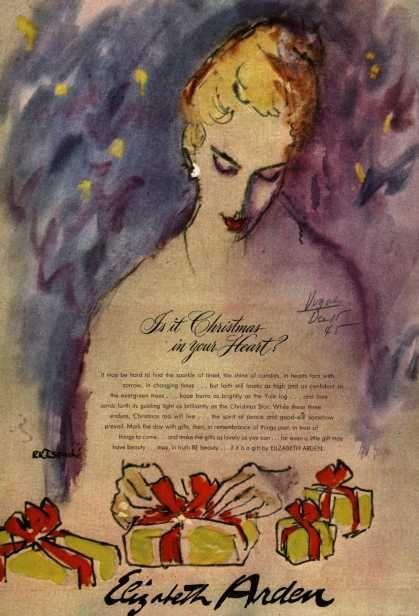 Elizabeth Arden – Is it Christmas in your Heart? (1945)