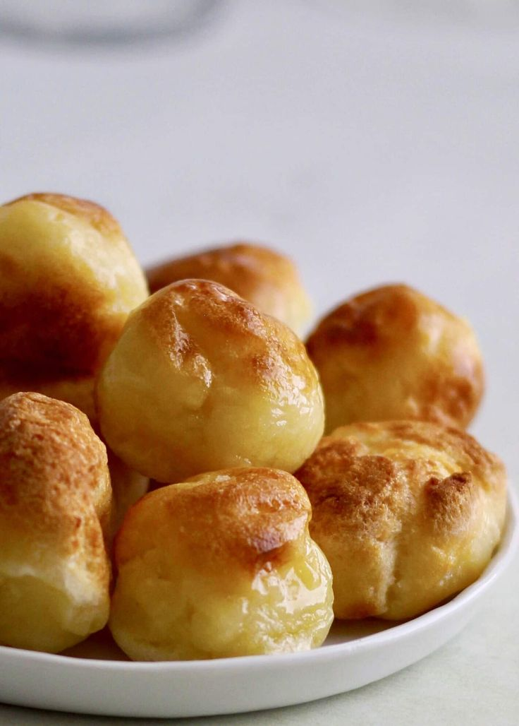Instant Pot Pao de Quiejo to make the famous Brazilian cheese bread at home. This gluten-free delight is steamed and then broiled.