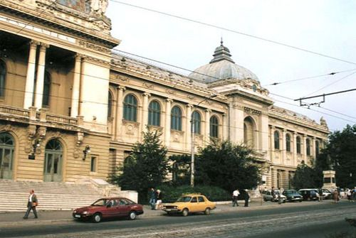 University of Iasi, another sample of an old university building