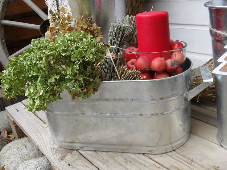 Zinkový oválny obal na bylinky, dreviny, deko …