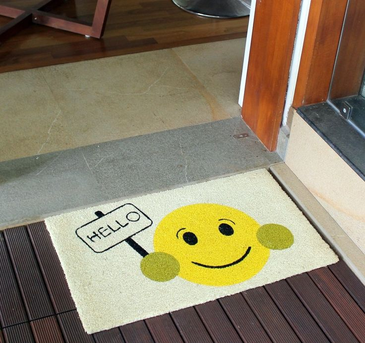 Dynamic Rugs Aspen Ivory/Yellow Door Mat