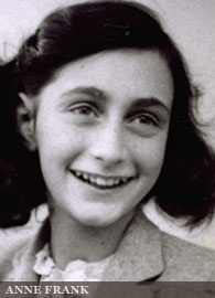 The words left behind in Anne Frank's diary speak to millions.