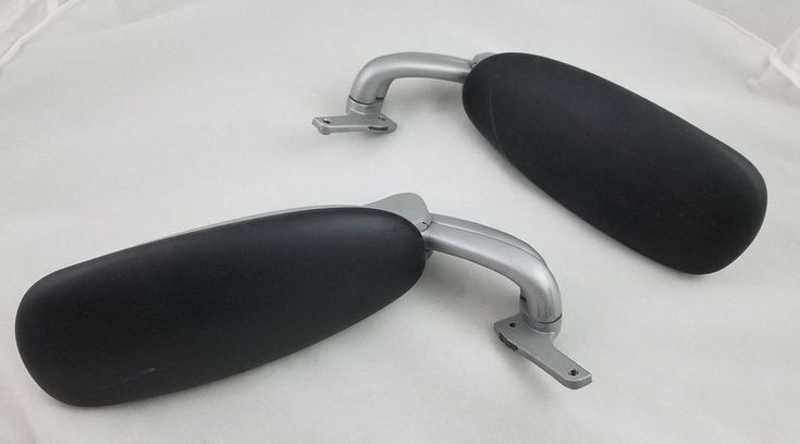 Humanscale Office Chair Parts 2 Adjustable Armrests Arms Set Pair Gray Black  #Humanscale #Liberty
