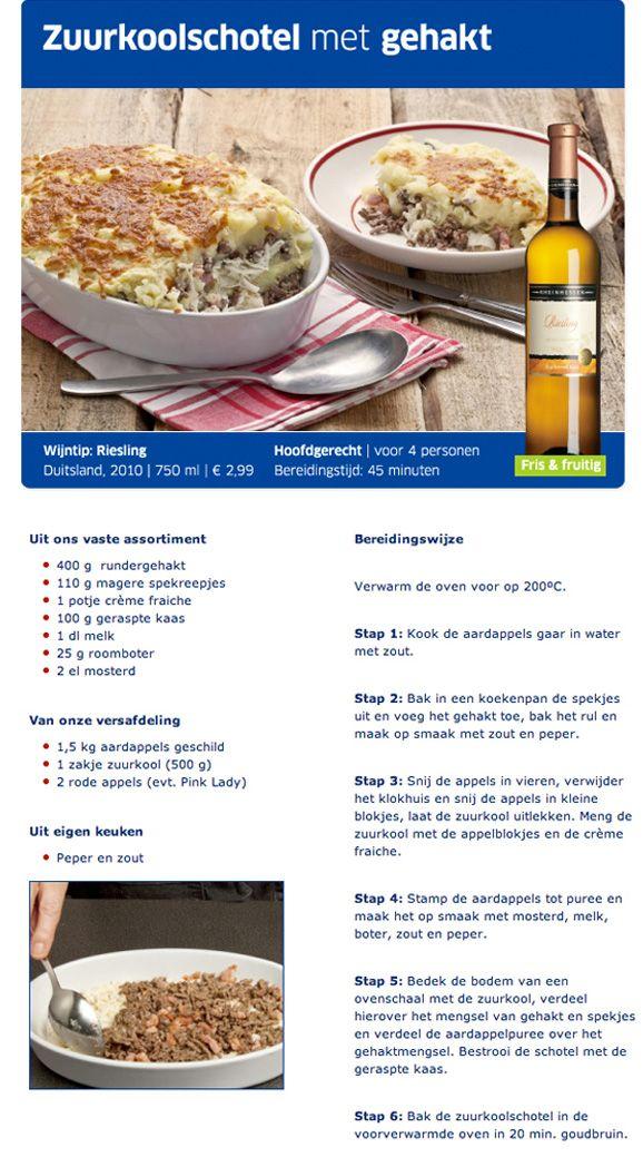 Zuurkoolschotel - Lidl Nederland