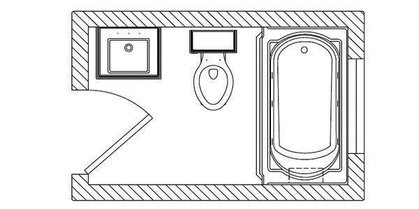 8 5 Bathroom Floor Plans: Best 25+ Small Bathroom Floor Plans Ideas On Pinterest