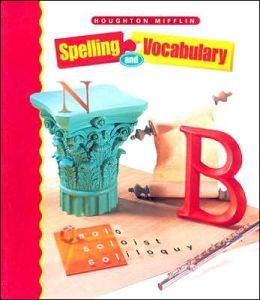 Houghton Mifflin Spelling: Student Edition Softcvr Level 8 2000 by Houghton Mifflin Harcourt | 9780395970447 | Paperback | Barnes & Noble