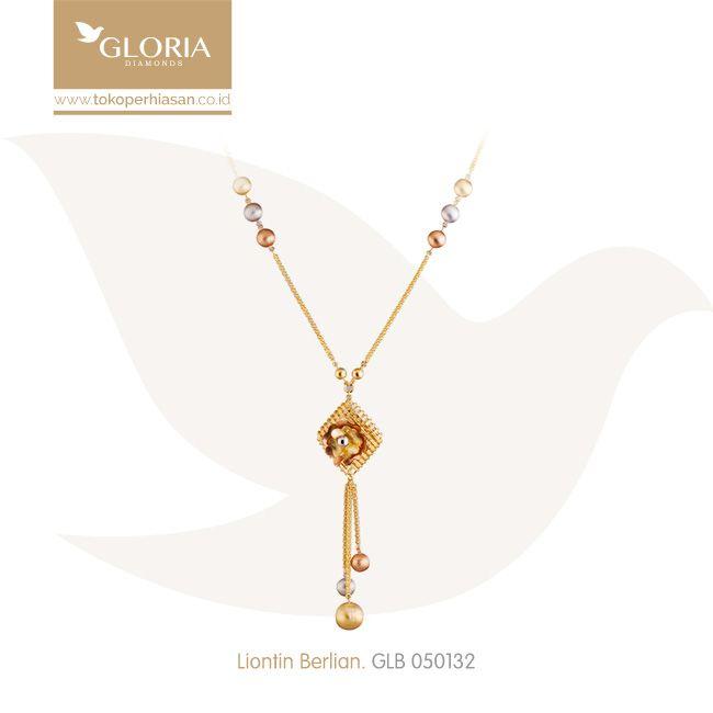 Kalung Panjang Rantai Nada Variasi Liontin Krawang Bunga Bola 3 Warna. #goldnecklace #necklace #goldstuff #gold #goldjewelry #jewelry #perhiasanemas #kalungemas #tokoperhiasan #tokoemas