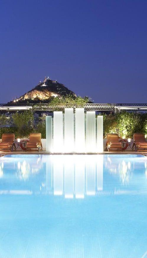 Hotel Grande Bretagne in Athens Greece