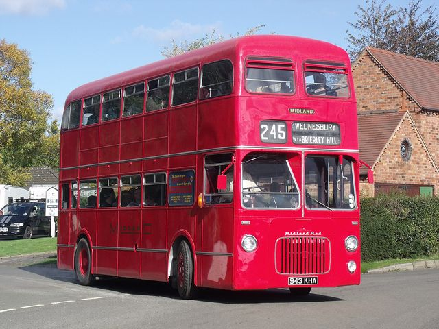 1961 BMMO D10 - Midland Red 4943