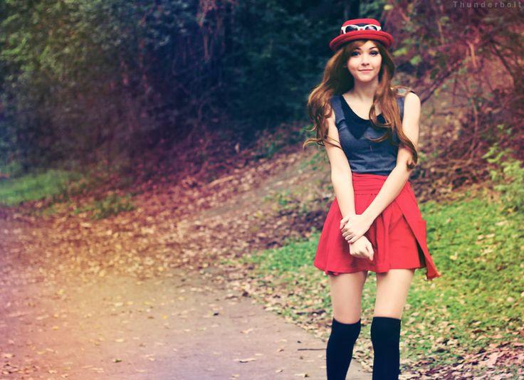 Pokemon X and Y - [Serena - Protagonist] by AmyThunderbolt on DeviantArt