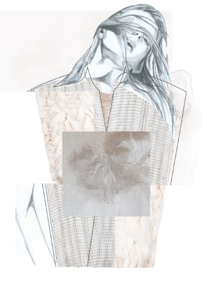 Fashion Sketchbook - fashion illustration; fashion collage; fashion portfolio // Rebecca Swann