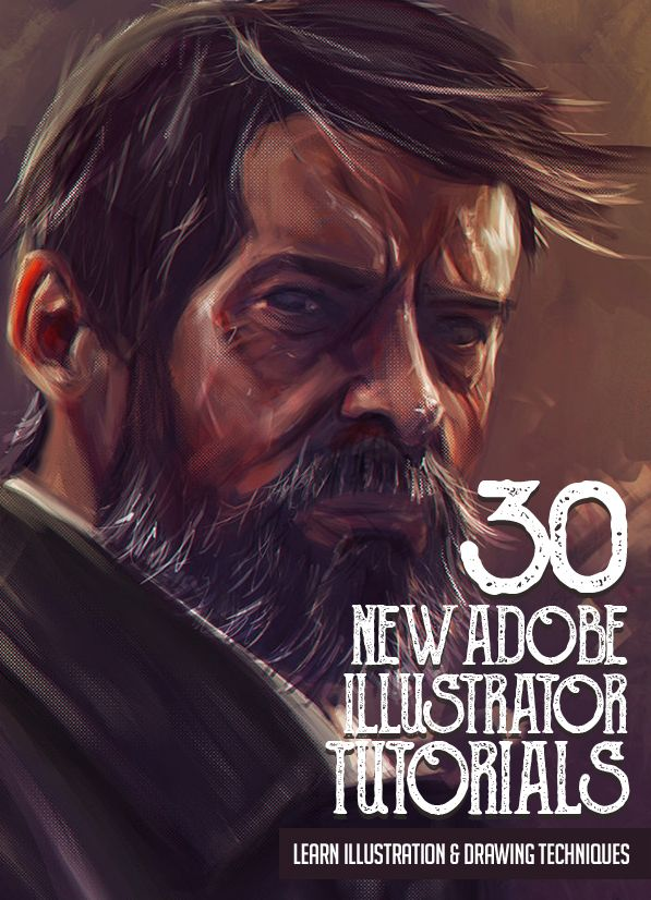 Illustrator Tutorials: 30 New Tutorials to Learn Illustration and Drawing Techniques #digitalillustration #illustratortutorials #tutorials #vectorgraphics #logotutorials