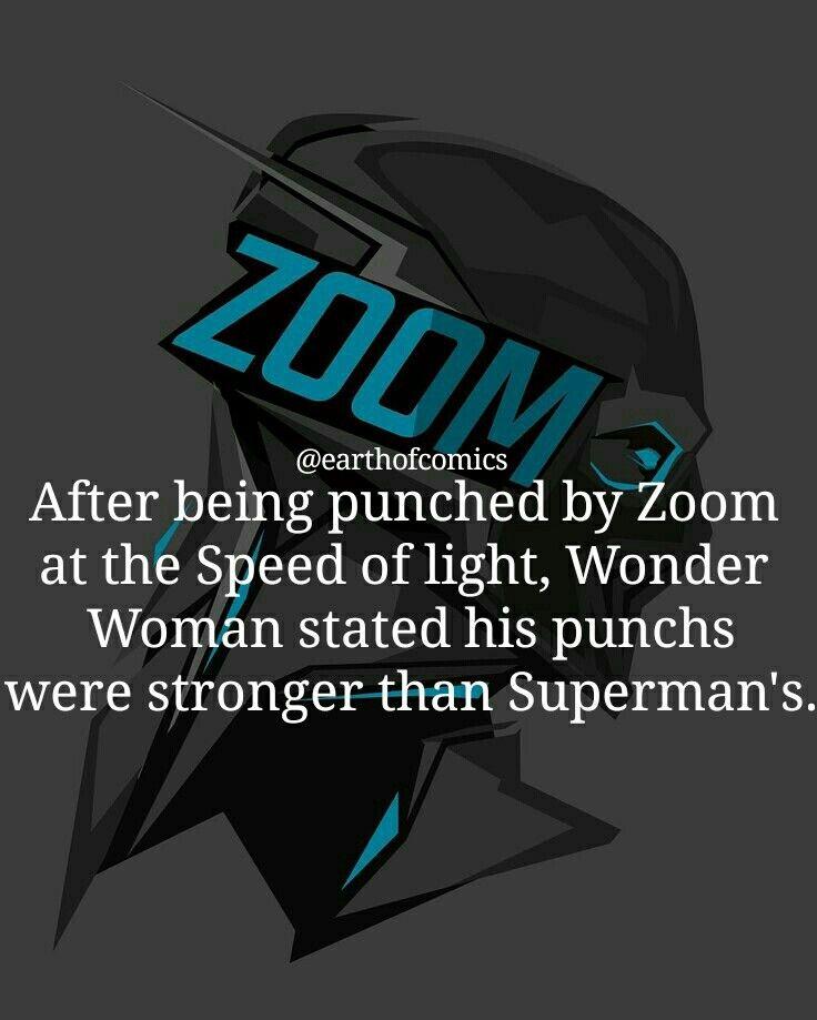 #Zoom #WonderWoman #Superman #Punch #Fact #MarvelFacts #DCFacts #Facts