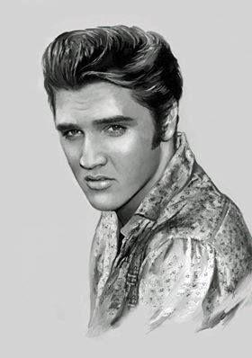 Amazing Elvis Presley drawing