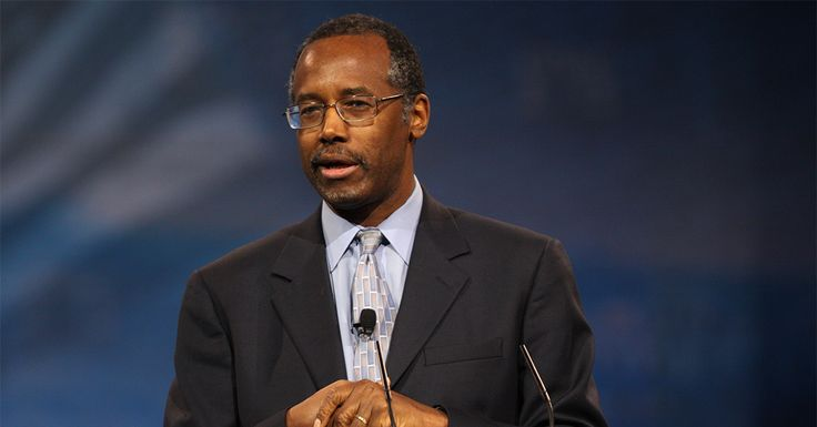The retired neurosurgeon and former presidential candidate made a controversial comment about immigration and slavery in his first address as HUD secretary.
