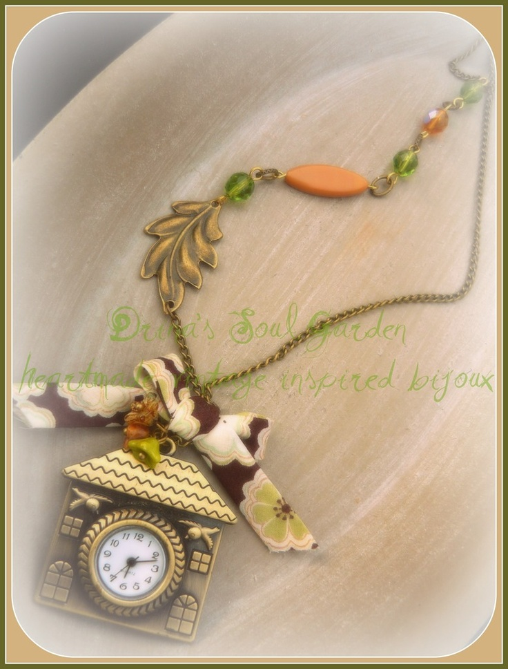 COLLANA OROLOGIO HOME SWEET HOME - NECKLACE