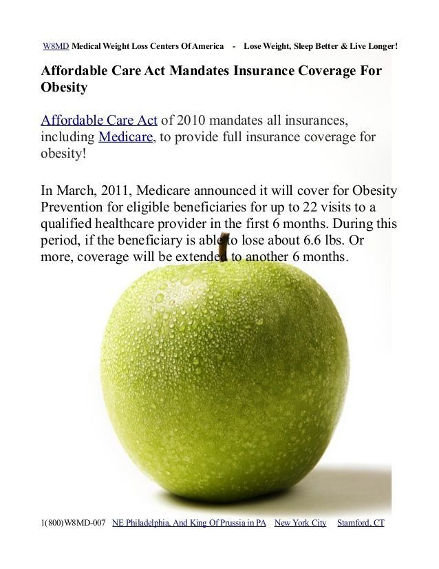 Medicare Coverage For Obesity Weight Loss Must Know Facts W8md