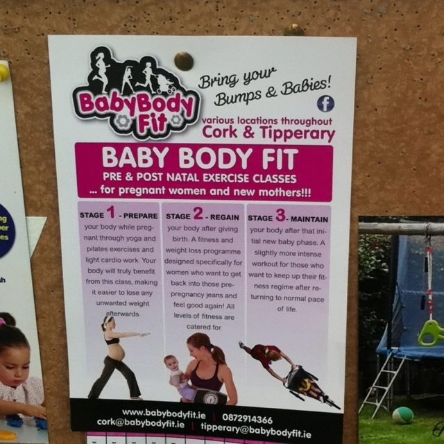Baby body fit.. Pre and post-natal exercise classes