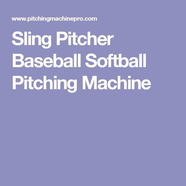 25 Best Ideas About Softball Pitching Machine On