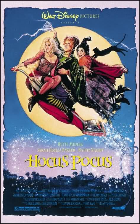 Hocus Pocus. perfect halloween movie