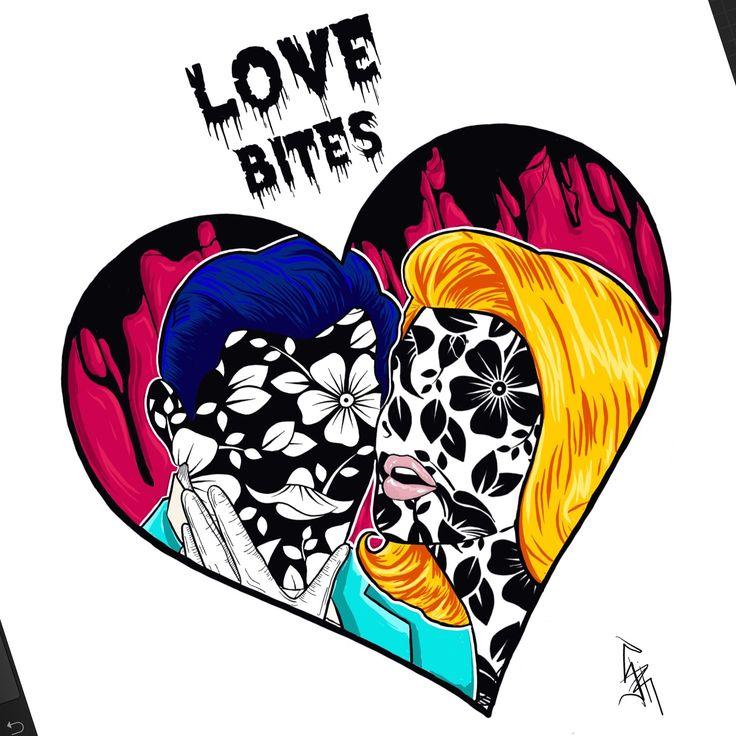 Dark pop love bites