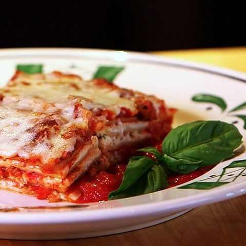 Get the Dish: Olive Garden Lasagna Classico: Ultra-comforting, and packed with layers of meat sauce, cheese, and tender noodles, Olive Garden's Lasagna Classico is one of their bestselling menu items (and for good reason).