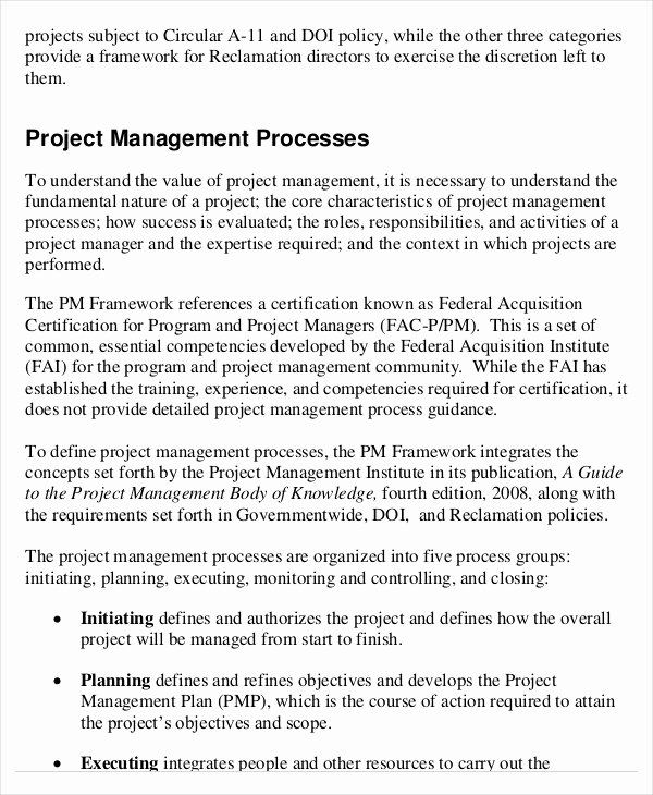 Project Executive Summary Template Word Beautiful Project Management Template 10… in 2020   Executive summary template. Project management ...