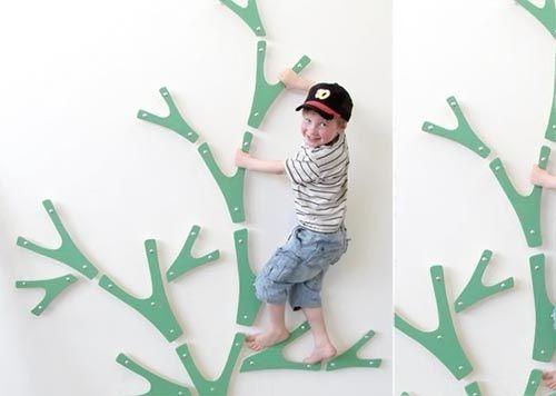 JUGAR, JUGAR, JUGAR: Interiores lúdicas de familias con columpios, toboganes y paredes para trepar – Babyecochic.com