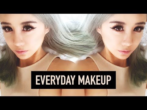 Everyday Makeup Tutorial ♥ For Hooded or Asian eyes ♥ One Palette Routine ♥ Wengie - YouTube