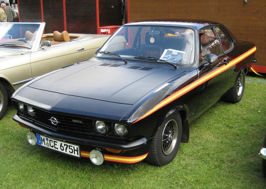 """The Opel Manta A """"Black Magic"""" is a very hard to find special edition of the first Manta from Opel. Definitely a youngtimer classic"""