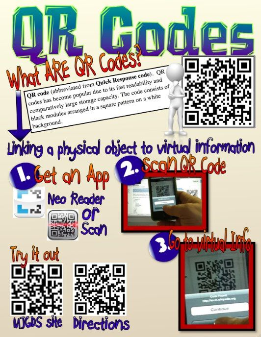 64 best qr codes images on pinterest school educational creating qr codes fandeluxe Image collections