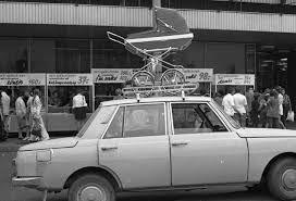 A kor egyik legnépszerűbb autómárkája a:wartburg