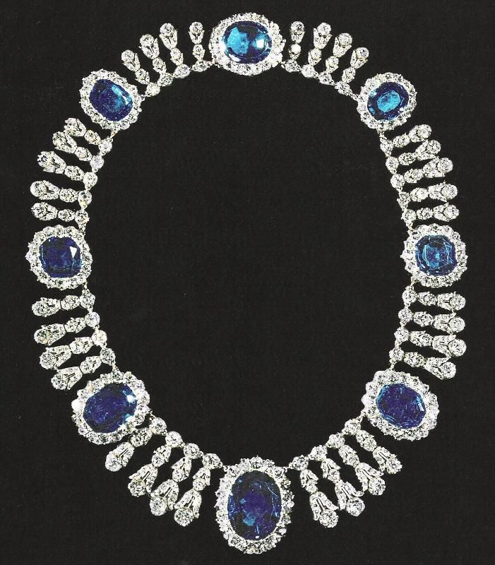 Empress Josephine's Sapphire Diamond necklace To have survived all these years... mind-blowing