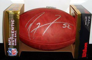 Ray Lewis Signed NFL Game Ball