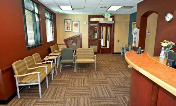 Interior design medical office space signage pinterest for Medical office interior design