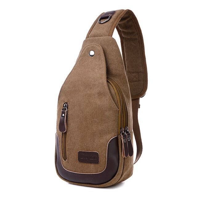 Special price Casual Rugzakken Canvas Men Backpack Retro Vintage Male Student School Bags Man One Shoulder Backpack Chest Bags Triangle Bolsas just only $17.98 with free shipping worldwide  #backpacksformen Plese click on picture to see our special price for you