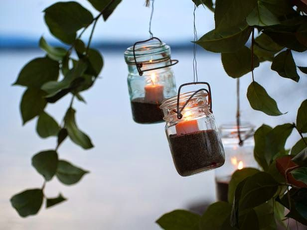 10 φανταστικές ιδέες για διακόσμηση με γυάλινα βάζα και μπουκάλια κρασιού…
