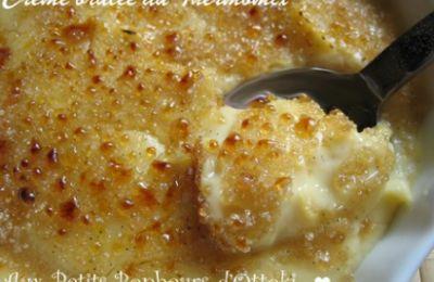 Image de la recette Crème brûlée à la vanille au Thermomix